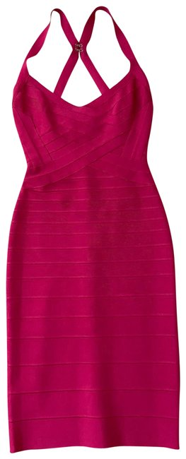 Item - Bright Rose Short Night Out Dress Size 4 (S)