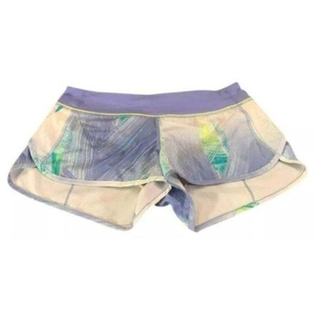 Item - Purple White Speed Wind Chill Lullaby Activewear Bottoms Size 8 (M, 29, 30)