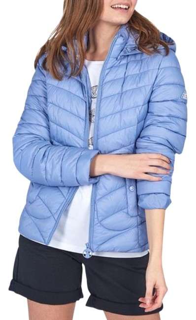 Item - Blue Fulmar Quilted Puffer Jacket Coat Size 4 (S)