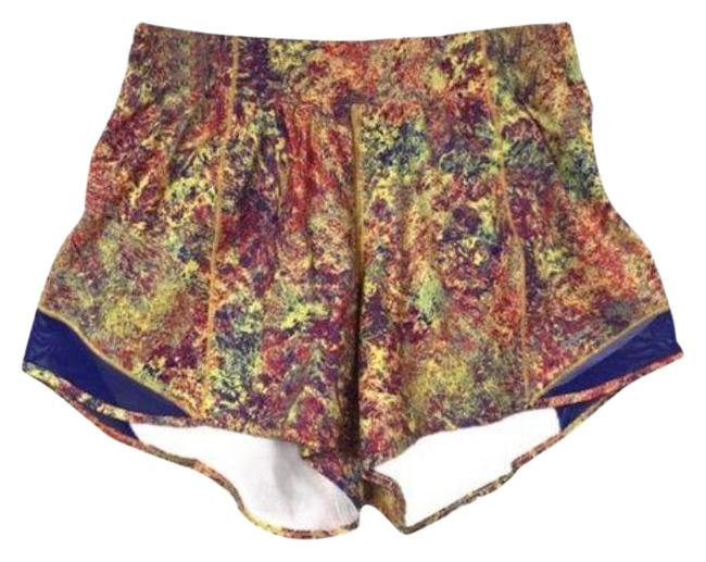 Item - Yellow Red Hotty Hot Seawheeze Woodland Sprint Activewear Bottoms Size 12 (L, 32, 33)