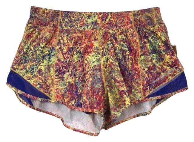 Item - Yellow Red Hotty Hot Seawheeze Woodland Sprint Activewear Bottoms Size 4 (S, 27)