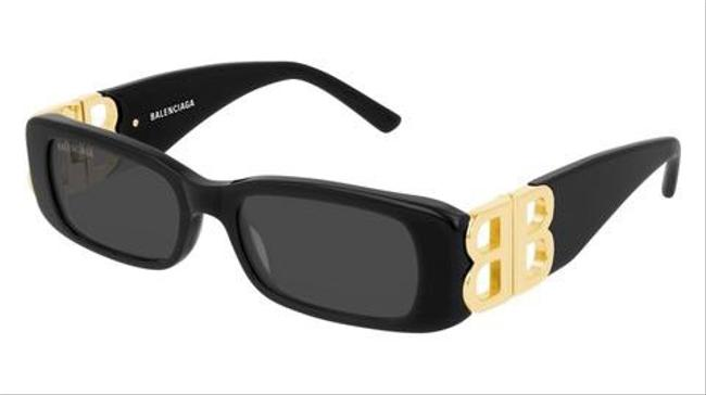 Item - Black and Gold Everyday Sunglasses