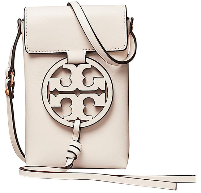 Item - Miller Phone Ivory with Tag Leather Cross Body Bag
