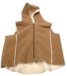 Ralph Lauren Hood Hooded Tan Vest
