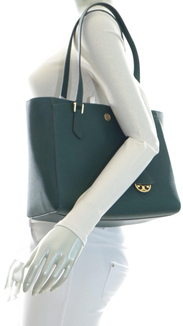 Item - Robinson Bag Small Pine Tree Textured Leather Tote