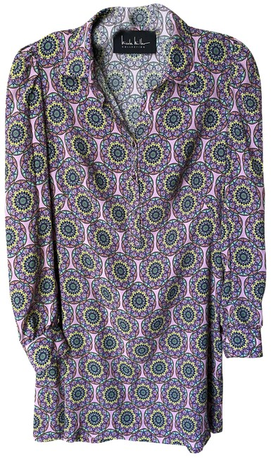 Item - Purple Green Blue Yellow Msrp Short Casual Dress Size 4 (S)