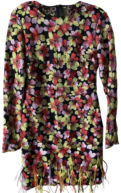 Item - Black Coral Green Msrp Short Casual Dress Size 4 (S)