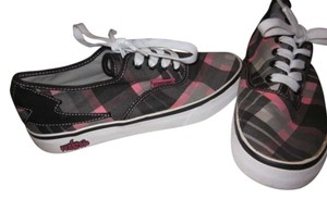punkrose Vans Pink And Grey Flats black/grey/pink Athletic