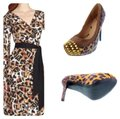 Penny Loves Kenny Animal Print Wedges Image 0
