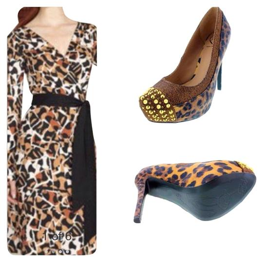 Penny Loves Kenny Animal Print Wedges
