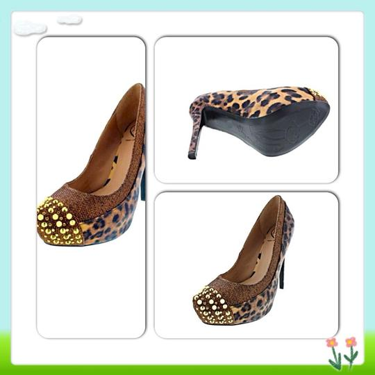 Penny Loves Kenny Animal Print Wedges Image 1