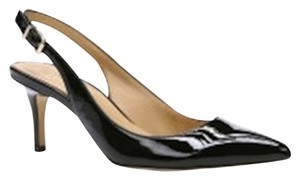 Ann Taylor Packaging Perfect Stunning Black Patent Leather Pumps