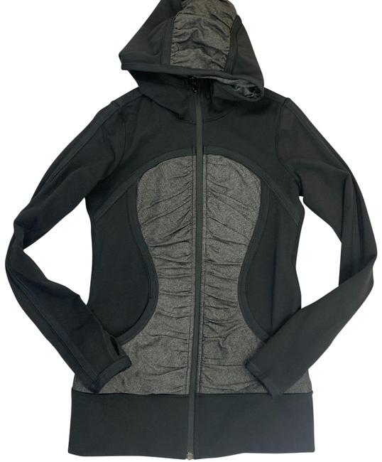 Item - Black Gray Pure Balance Activewear Outerwear Size 6 (S, 28)