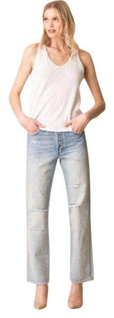 Item - Super Light Vintage Destroy Wash Layla High Rise Relaxed Straight Leg Jeans Size 29 (6, M)