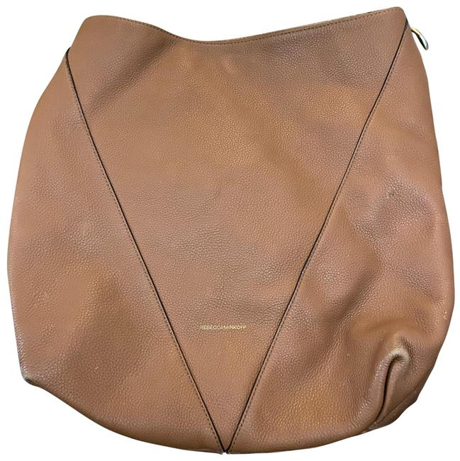 Item - Dust Brown with Gold Leather Cross Body Bag