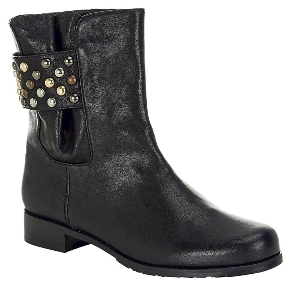 WOMENS Stuart Weitzman Boots/Booties Black Studsmart Boots/Booties Weitzman Average costs b333c5