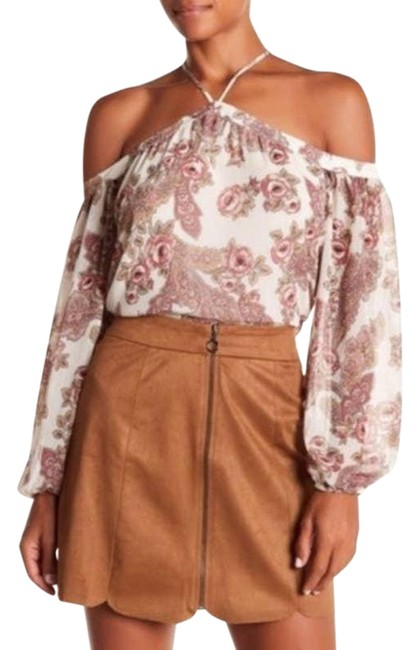 Item - White Nordstrom Liberty Cold Shoulder Blouse Size 2 (XS)