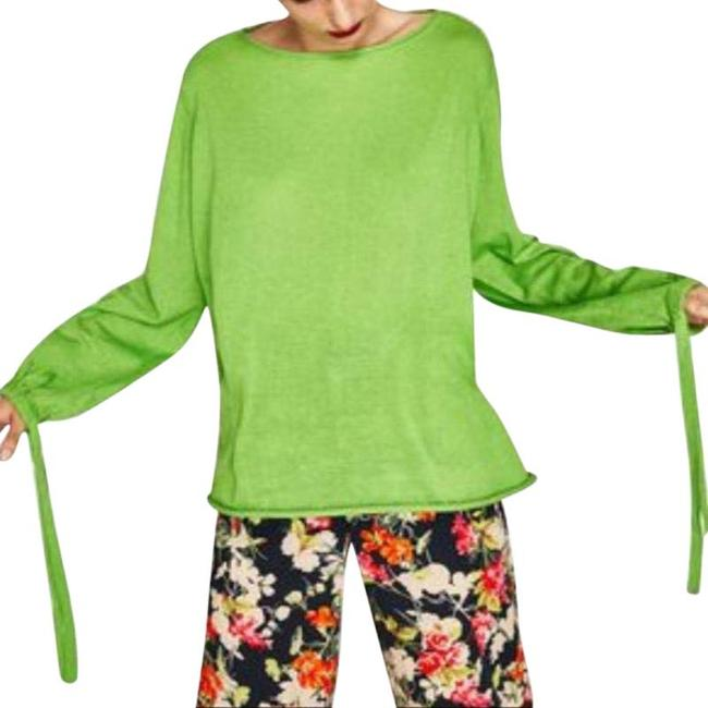 Item - Knit Over Sized Jumper Small Green Sweater