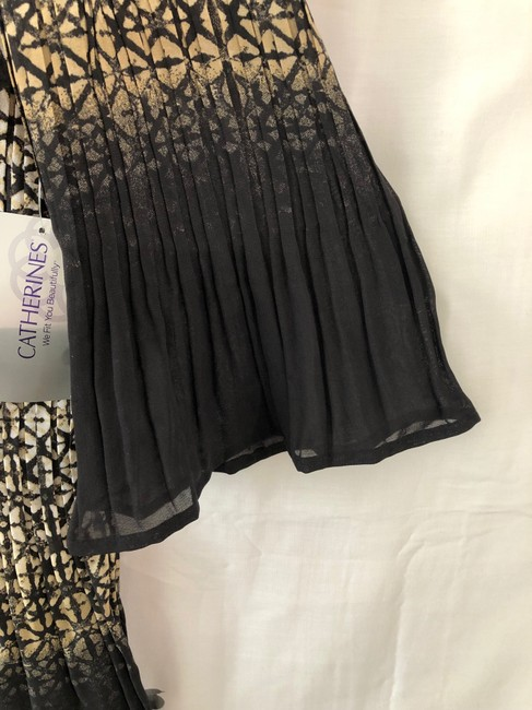 Catherines Black and Tan with Off White Blouse Size 16 (XL, Plus 0x) Catherines Black and Tan with Off White Blouse Size 16 (XL, Plus 0x) Image 5
