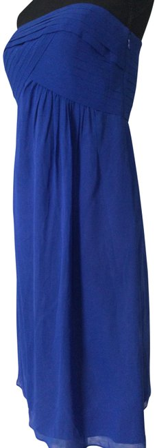 Item - Electric Blue Cocktail Mid-length Night Out Dress Size 6 (S)