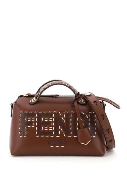 Item - By The Way Medium Brown Leather Tote