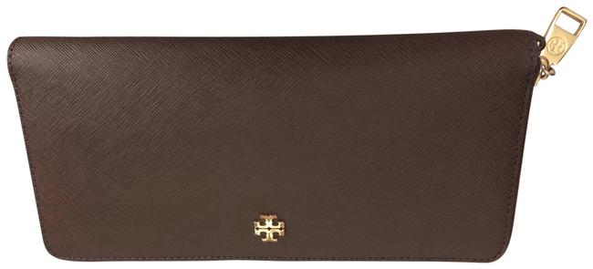 Item - Robinson Leather Passport Continental Wallet Brown Clutch