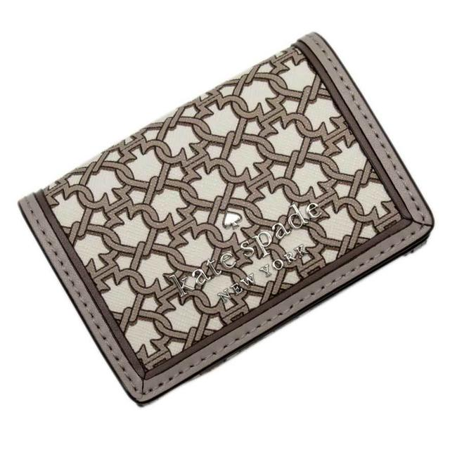 Item - Gray Tri-fold Leather Wallet