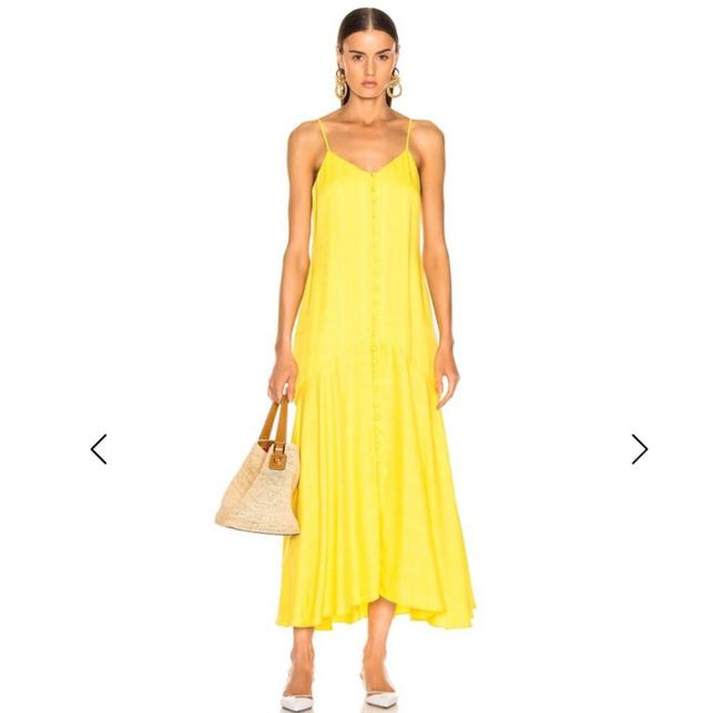Item - Yellow Mid-length Casual Maxi Dress Size 6 (S)