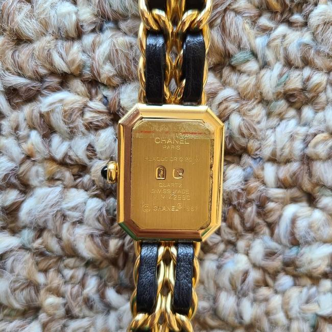 Chanel Black and Gold Swiss Watch Chanel Black and Gold Swiss Watch Image 3