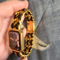 Chanel Black and Gold Swiss Watch Chanel Black and Gold Swiss Watch Image 8