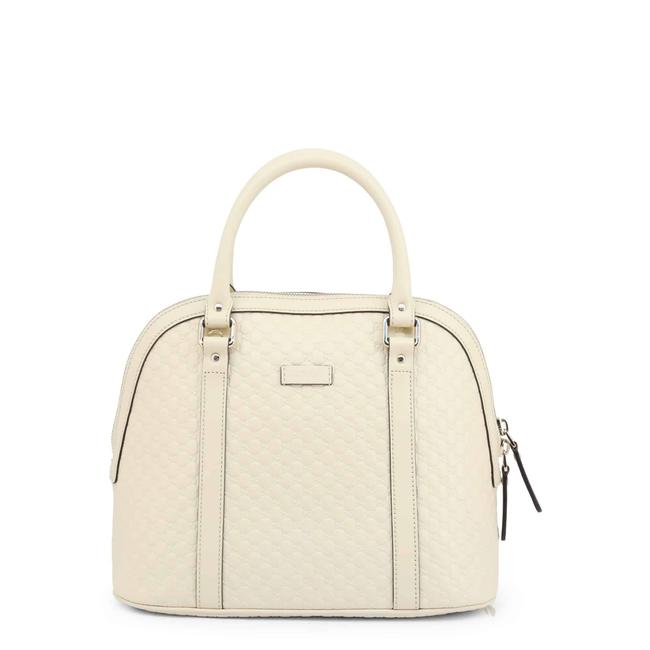 Item - Dome New Medium Micro Gg ssima White Leather Shoulder Bag