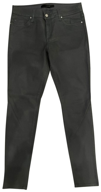 Item - Gray Coated Skies Skinny Jeans Size 8 (M, 29, 30)