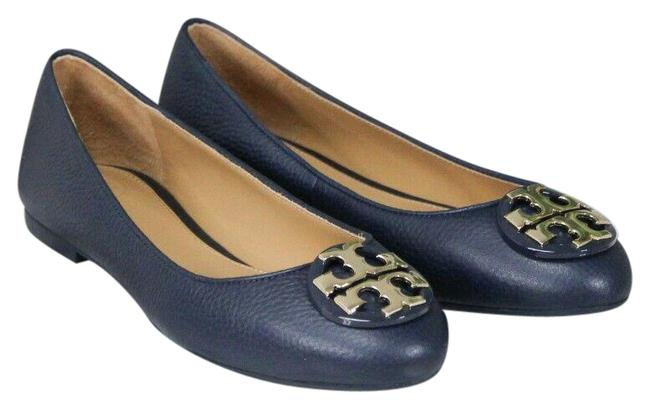 Item - Perfect Navy Claire Tumbled Leather Ballet Slip On Size-5.5 (43394) Flats Size US 5.5 Regular (M, B)