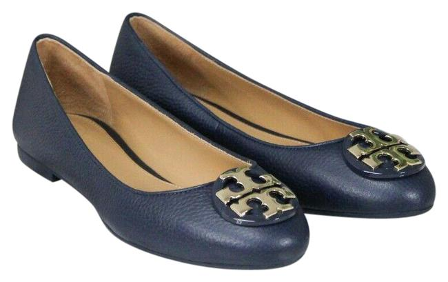 Item - Perfect Navy Claire Tumbled Leather Ballet Slip On Size-6.5 (43394) Flats Size US 6.5 Regular (M, B)