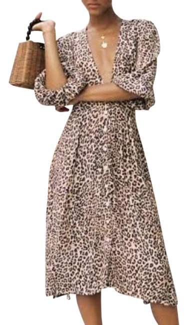 Item - Brown Louise Marie Midi Mid-length Casual Maxi Dress Size 10 (M)