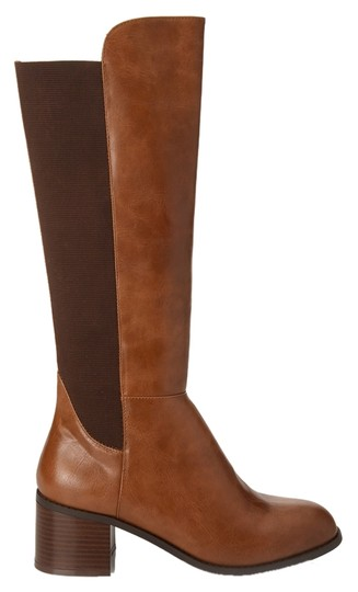 Other Faux Leather Riding Camel/brown Boots