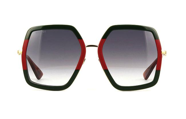 Item - Red and Green Large Style Gg 0106s 007 - Free 3 Day Shipping Extra Large Sunglasses