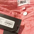 Paige Pink Light Wash Colette Crop Flare Faded Valentine Skinny Jeans Size 24 (0, XS) Paige Pink Light Wash Colette Crop Flare Faded Valentine Skinny Jeans Size 24 (0, XS) Image 7