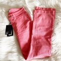 Paige Pink Light Wash Colette Crop Flare Faded Valentine Skinny Jeans Size 24 (0, XS) Paige Pink Light Wash Colette Crop Flare Faded Valentine Skinny Jeans Size 24 (0, XS) Image 8