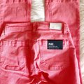 Paige Pink Light Wash Colette Crop Flare Faded Valentine Skinny Jeans Size 24 (0, XS) Paige Pink Light Wash Colette Crop Flare Faded Valentine Skinny Jeans Size 24 (0, XS) Image 10