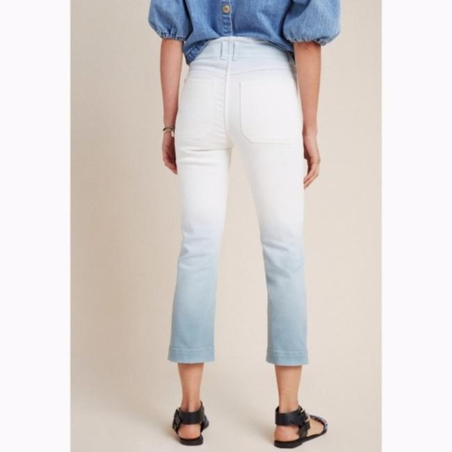 Anthropologie White/Blue Light Wash Anthro Pilcro High Rise Dip Dyed Relaxed Fit Jeans Size 26 (2, XS) Anthropologie White/Blue Light Wash Anthro Pilcro High Rise Dip Dyed Relaxed Fit Jeans Size 26 (2, XS) Image 2
