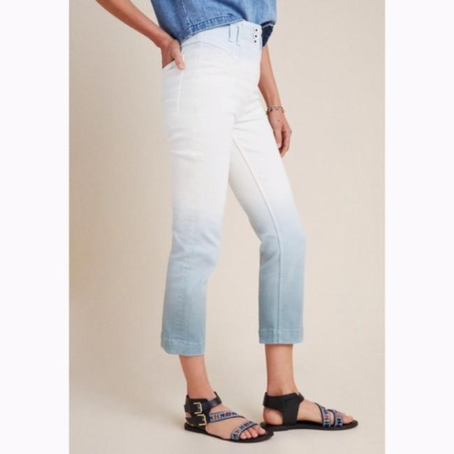 Anthropologie White/Blue Light Wash Anthro Pilcro High Rise Dip Dyed Relaxed Fit Jeans Size 26 (2, XS) Anthropologie White/Blue Light Wash Anthro Pilcro High Rise Dip Dyed Relaxed Fit Jeans Size 26 (2, XS) Image 4