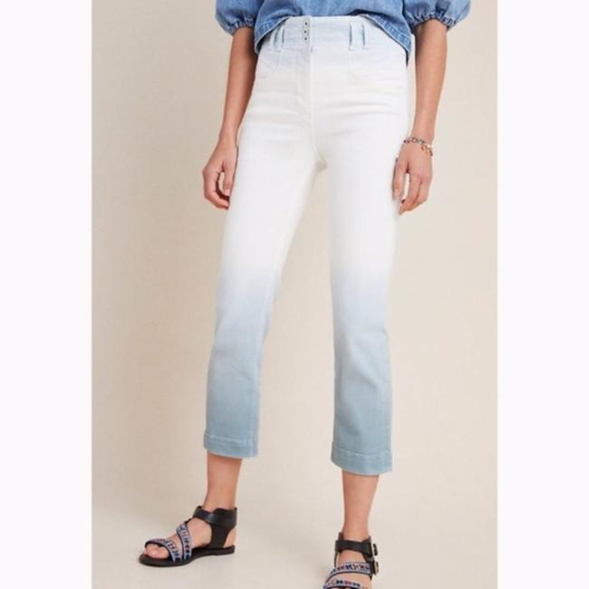 Anthropologie White/Blue Light Wash Anthro Pilcro High Rise Dip Dyed Relaxed Fit Jeans Size 26 (2, XS) Anthropologie White/Blue Light Wash Anthro Pilcro High Rise Dip Dyed Relaxed Fit Jeans Size 26 (2, XS) Image 5