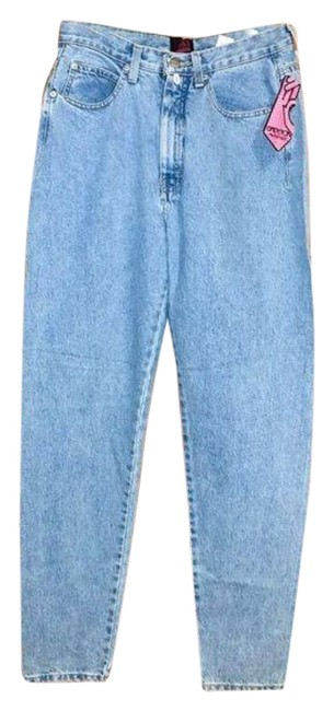 Item - Blue High Rise Relaxed Fit Jeans Size 30 (6, M)
