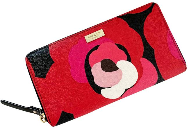 Item - Red Pink Multicolored Wallet