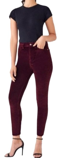 Item - Red Medium Wash New Women's Chrissy Ultra High Skinny Jeans Size 27 (4, S)