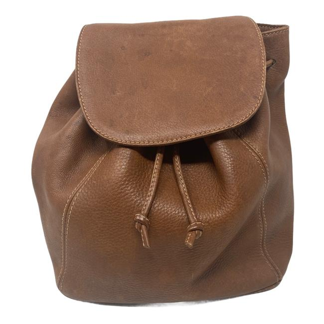 Item - Sonoma Vintage Made In Italy Brown Leather Backpack