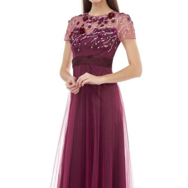 Item - Red Sequin Bodice Long Formal Dress Size 4 (S)