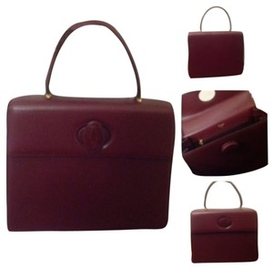 Cartier Purse Box Satchel in Red