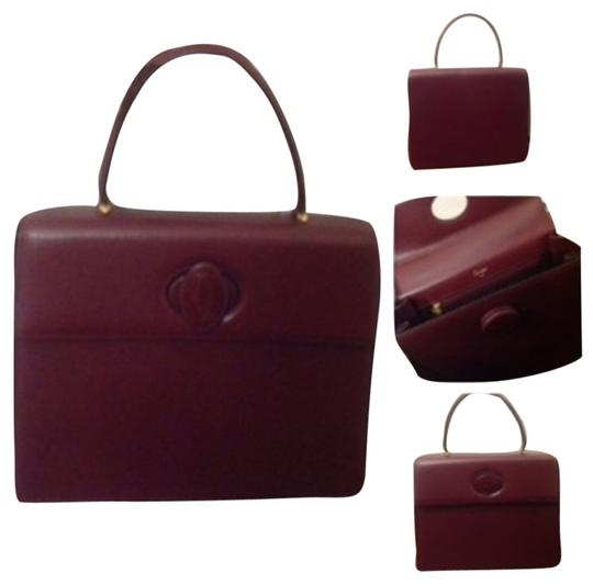 Cartier Box Satchel in Red